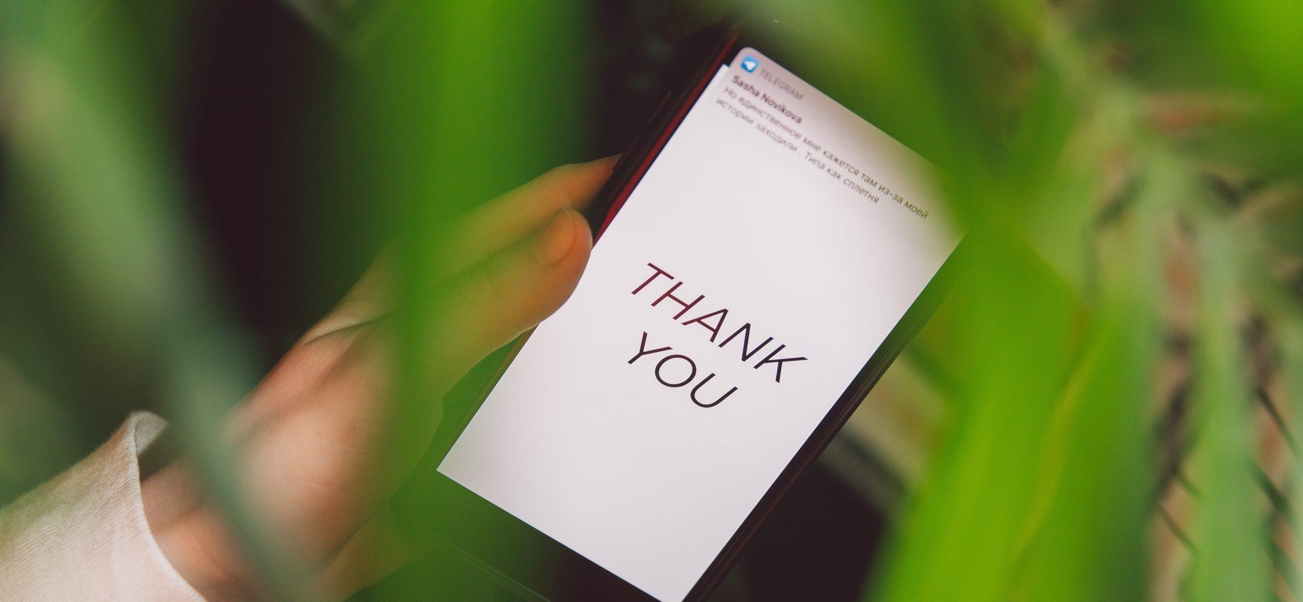 Thank Someone